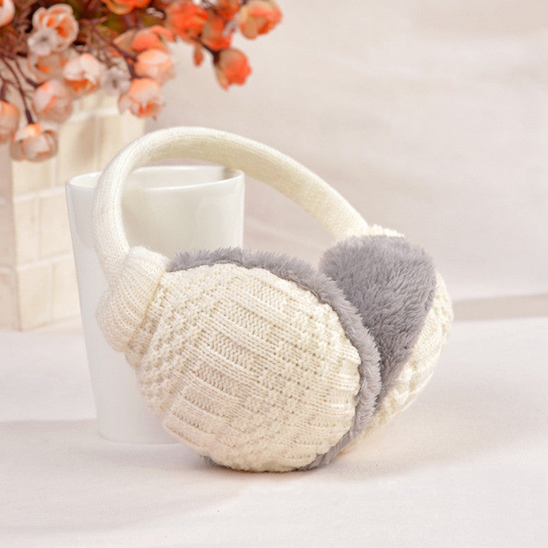 Warm Knitted Earmuffs - 9 Colors
