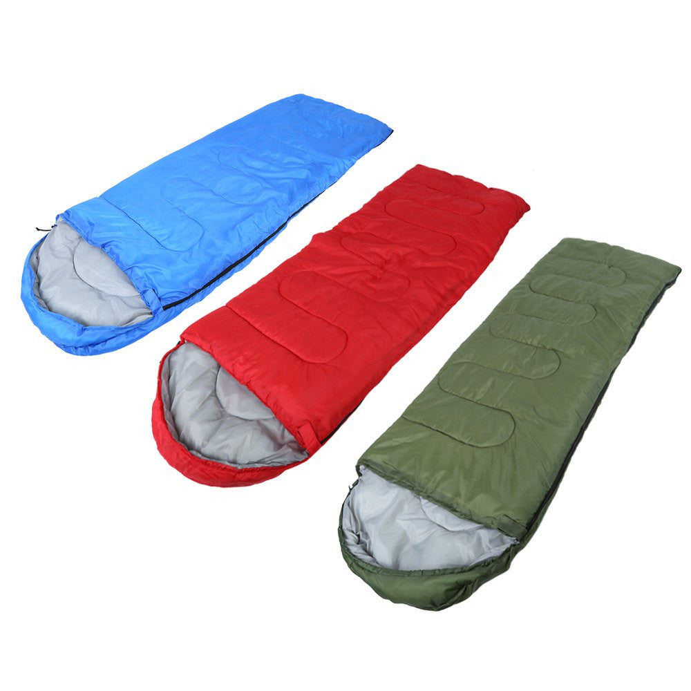 Ultra Light Single Warm Sleeping Bag with Storage Bag