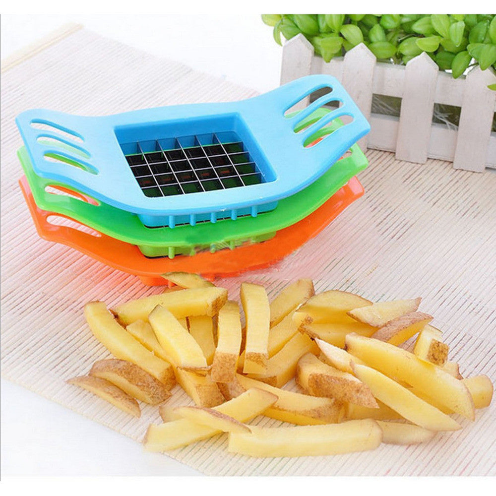 Stainless Steel French Fry Cutter - Flash Steals
