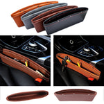 2-Pack Leather Catch Caddy Seat Catcher