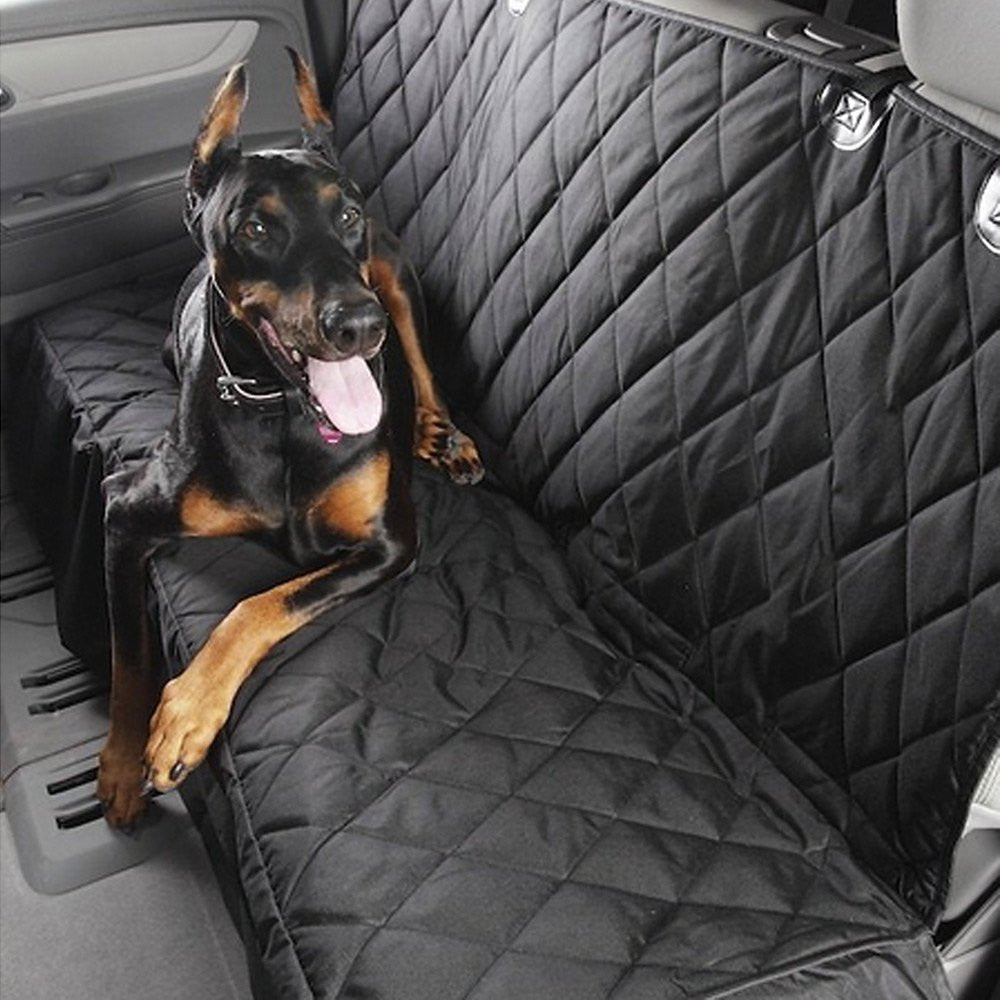 Water Resistant Quilted Non-Slip Back Bench Car Seat Cover