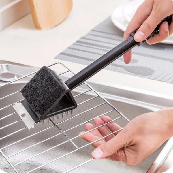 2 in 1 Barbecue Grill Cleaner