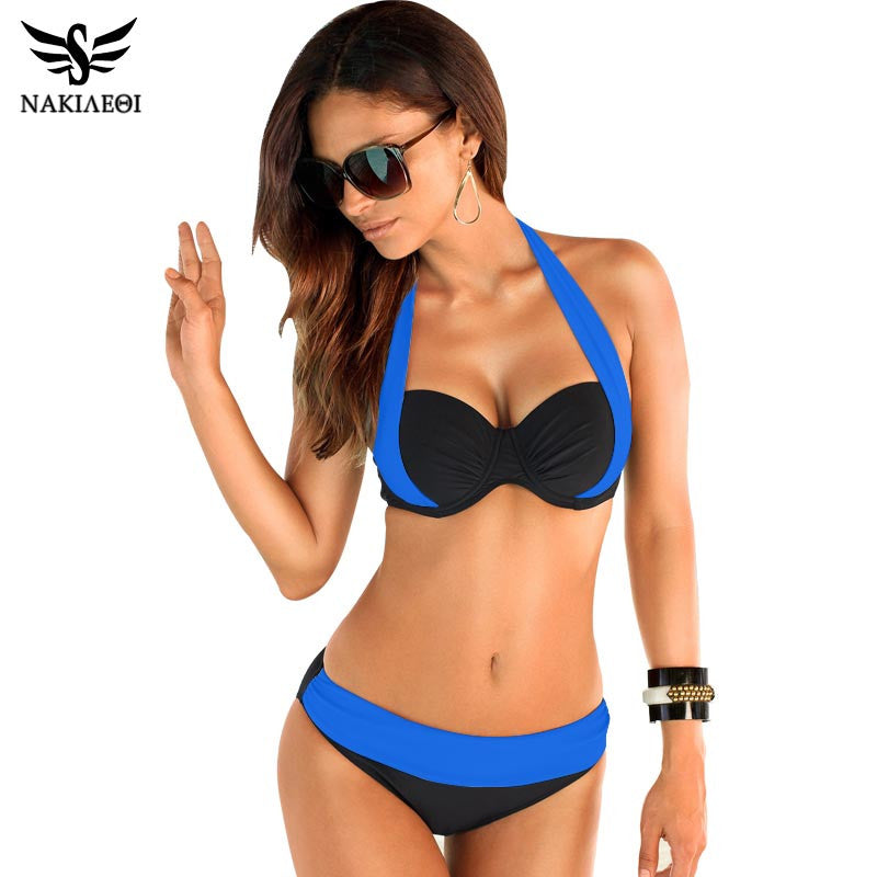 2-Piece Trendy Swimsuit Set - Multiple Colors - Flash Steals