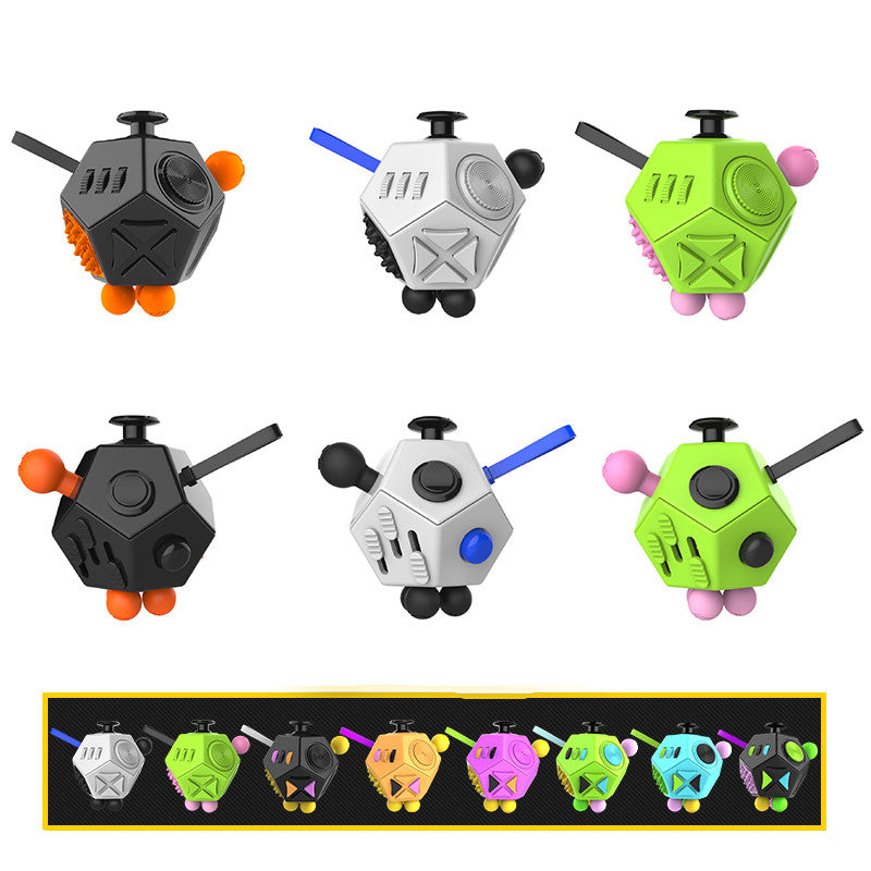 12 Sided Anti Stress Fidget Cube