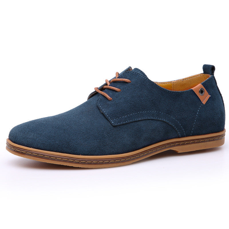 Men's Fashion Flat Leather Oxford Shoes