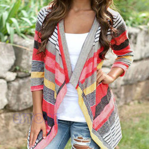 Boho Womens Long Sleeve Cardigan