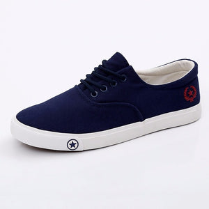 Breathable Canvas Casual Shoes