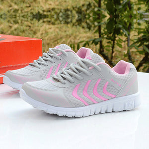Womens Breathable Sneakers - Multiple Colors