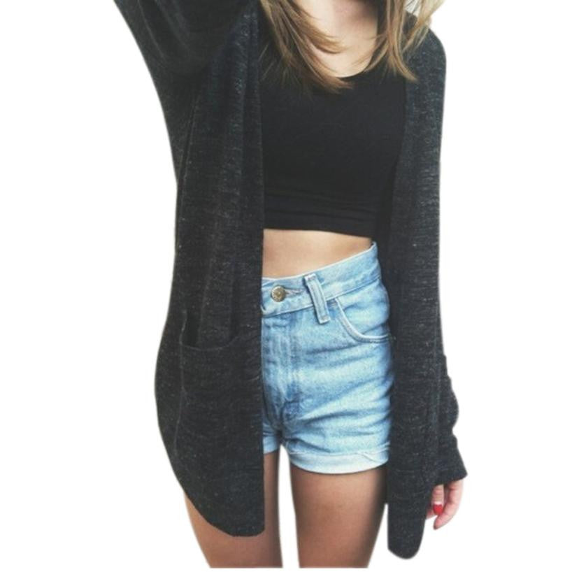 Open-Front Cardigan - Flash Steals