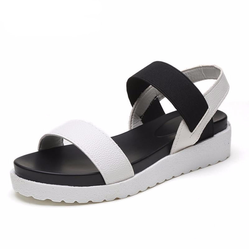 Women's Two-Tone Sandals