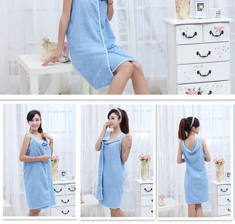 Ultra Soft Bath Towel Robe