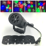 Snowflake LED Laser Projector