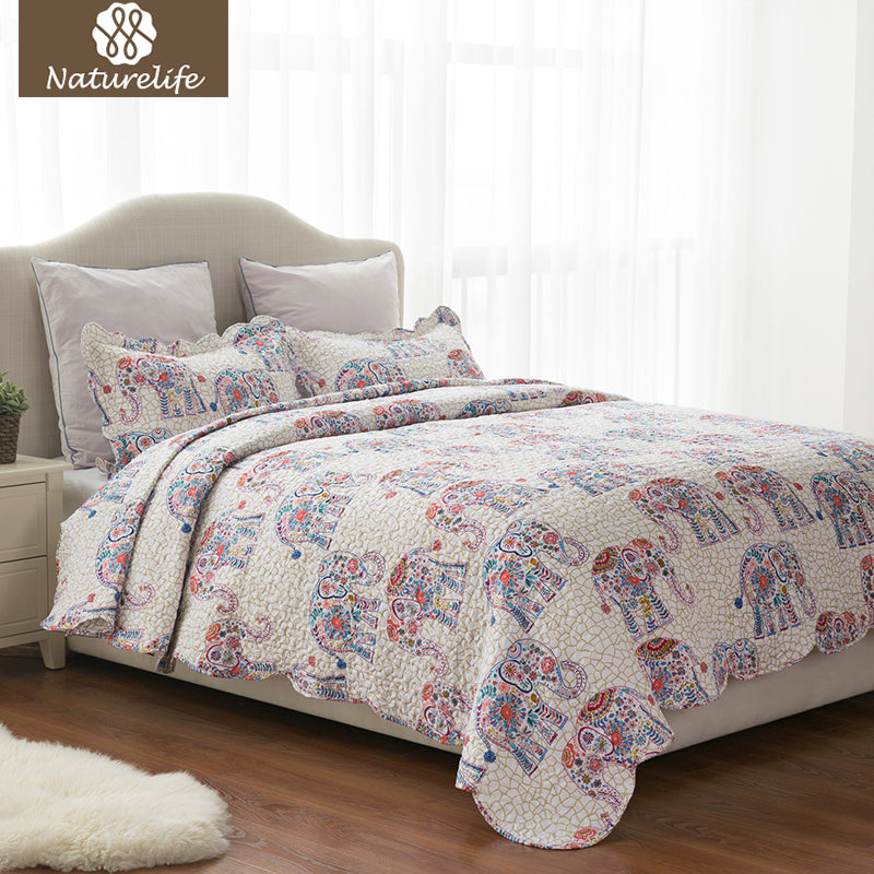 3-Piece Set: Pattern Quilt Set