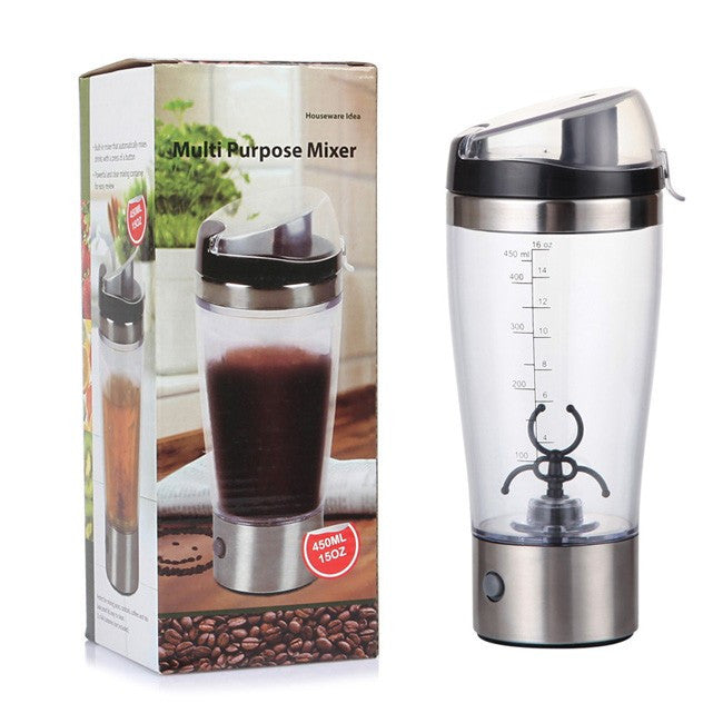Electric Cyclone Protein Juice Blender Bottle - Flash Steals