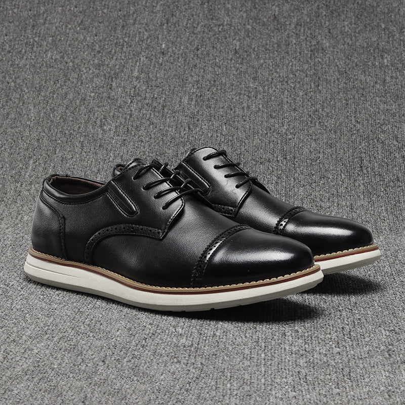 Casual Leather Breathable Shoes