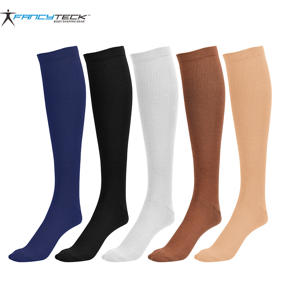 6-Pairs: Miracle Socks Anti Fatigue Compression Socks