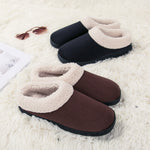 Men's Plus Memory Foam Slippers
