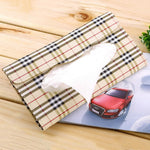 Leather Car Tissue Holder