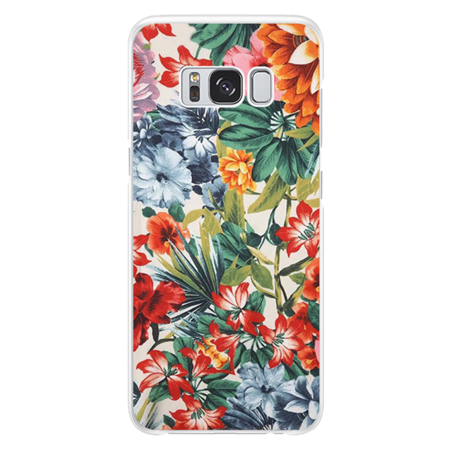 Flowers shape Case  For Samsung