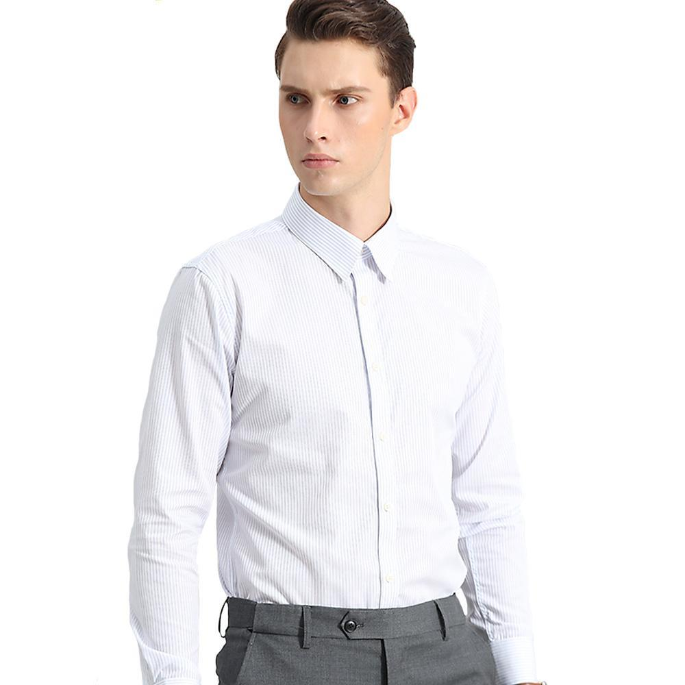 Clearance Cotton Casual Slim Fit Dress Shirts