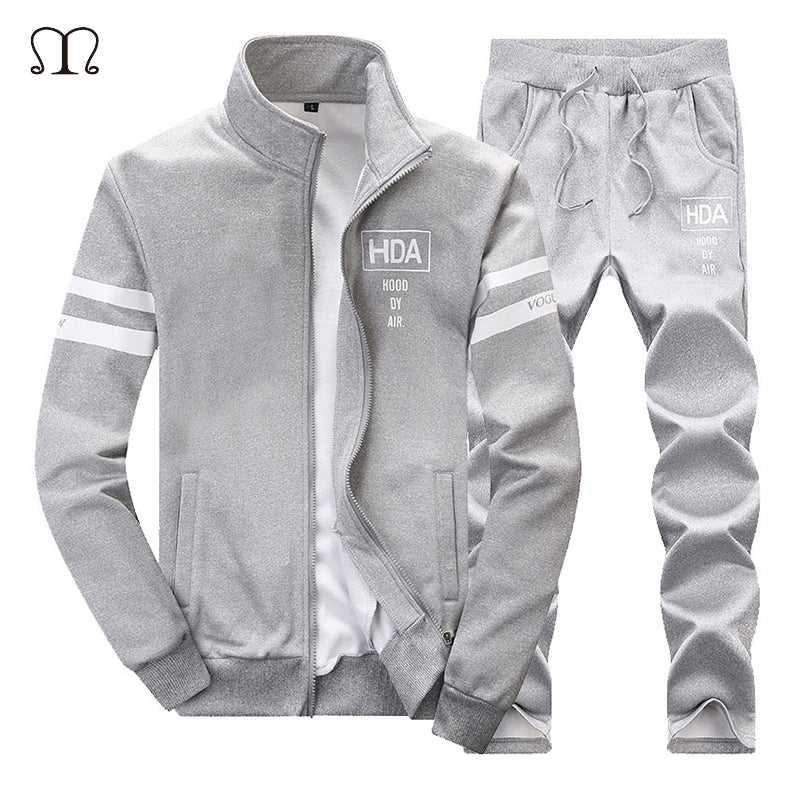 2-Piece Set: Cotton Hoodie & Sweatpants