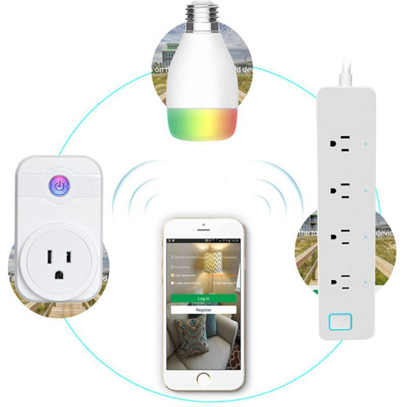 WiFi Smart Home Plug Control Your Devices From Anywhere