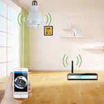 360 Degree Wireless Panoramic Bulb WiFi Camera