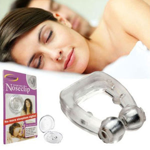 Snore Free Nose Clip - Anti Snoring Device - Quieter Restful Sleep - Flash Steals