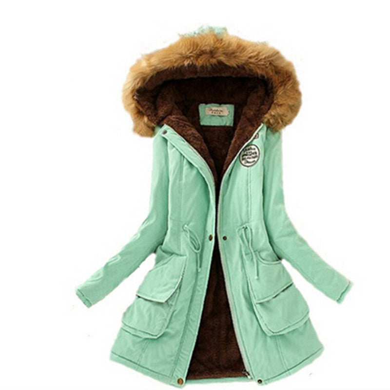 Womens Winter Fur Jacket - 14 Colors