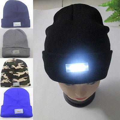 LED Knitted Beanie - Flash Steals