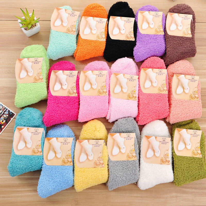 10 Pairs: Fleece Warm Fuzzy Socks for Women - Flash Steals