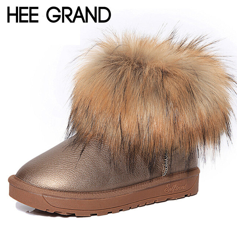 Womens Fur Anke Boots - Multiple Colors