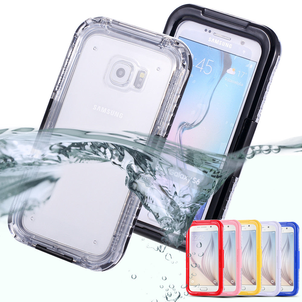 Waterproof Transparent Case for Samsung Galaxy S6 /S6 Edge - Flash Steals