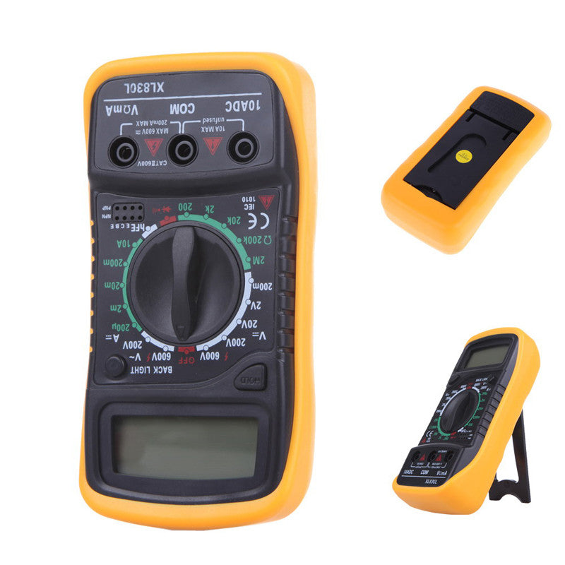 High Quality Digital LCD Multimeter - Flash Steals