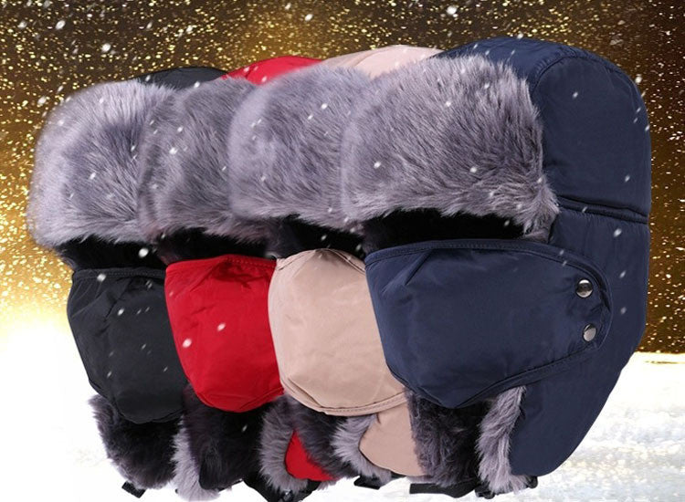 Outdoor Thick Faux Fur Winter Hats - Flash Steals