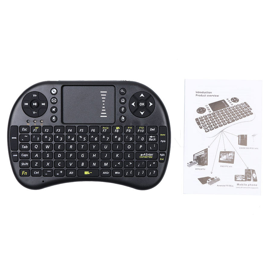 Mini 2.4Ghz Wireless Touchpad Keyboard With Mouse