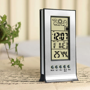 Wireless Weather Station Alarm Clock