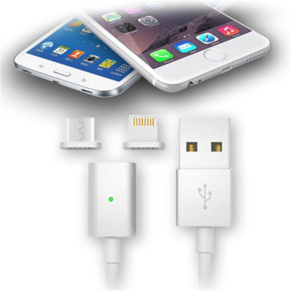 Magnetic USB Charger Cable Adapter (iPhone & Android)