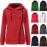 Mamir's Express - Casual Long Sleeve Velvet Thickened Hooded Cotton Sweatshirt Hoodies