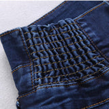 Mamir's Express - High Waist Skinny Denim Long Pencil Pants Jeans