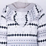 Mamir's Express - Cashmere Knitted Cardigan Sweater