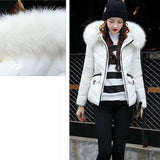 Winter Coat Thick Slim Cotton Blend Down Jacket Coat Overcoat
