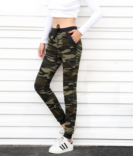 Mamir's Express - Camouflage Sweatpants Harem Loose Long Pant With pocket