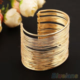 Mamir's Express - Metal Multi-layer Strings Wristband Cuff Jewelry Bangle  Bracelet