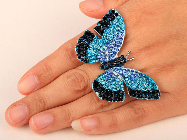 Mamir's Express - Butterfly Stretch Ring for women