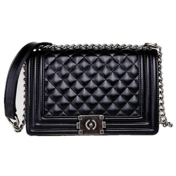 Pu Leather Small Cross-body Handbag Chain Shoulder