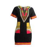 Mamir's Express - African Dashiki Mini Dress