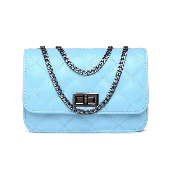 ... Mamir s Express - Ladies Shoulder Bag Small Crosbody Bags with Chains  Flap Messenger ... acba438f6787e