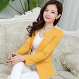 Mamir's Express - Long Sleeve One Button Ladies Blazers