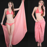 Mamir's Express - Chiffon Bikini Cover Up Swimwear Women Robe